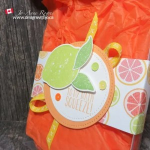 decorate a gift box