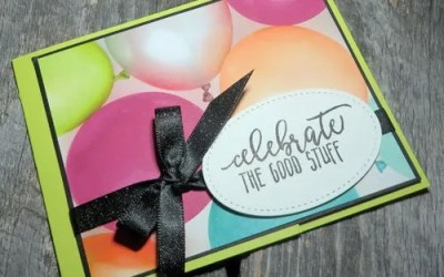 Simple Handmade Birthday Cards with Patterned Paper