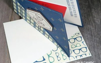 Make a Twist Fold Card for Fathers Day This Year | Video