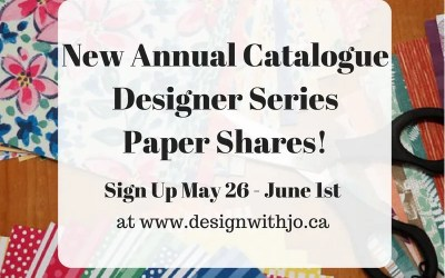 2018-19 Annual Catalogue Paper Shares!
