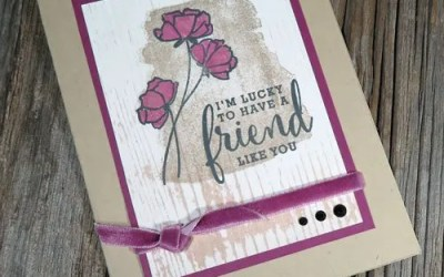 Colour and A Special Birthday Share What You Love Card