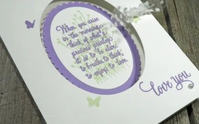 DIY Linen Finish Cardstock with the Subtle Dynamic Textured Impressions Embossing Folder