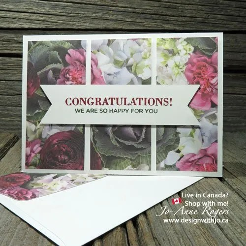 Make some Ultra FAST DIY Notecards for Special Occasions
