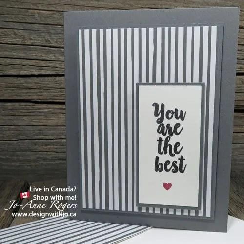 not your ordinary monochromatic colour scheme card