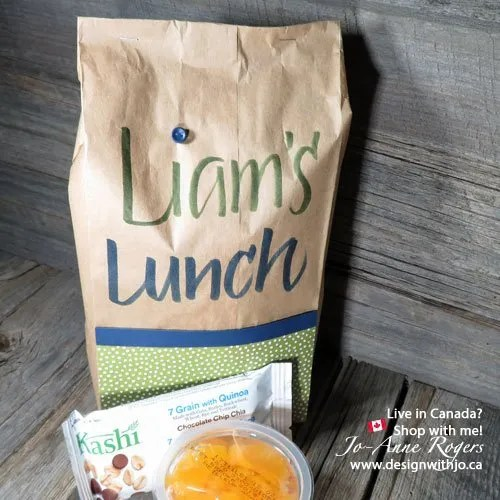 how much fun is it lettering your kids lunch bags for school