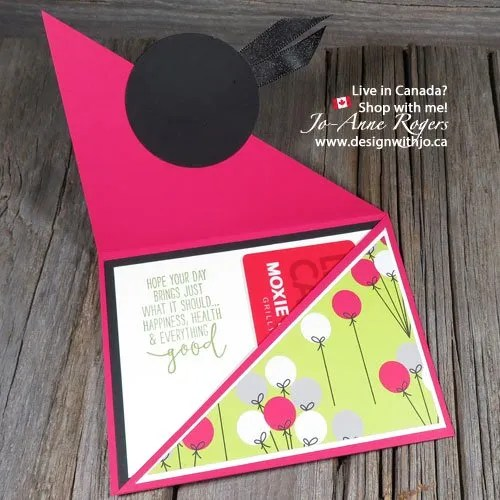Who Wouldn't Want this Right Angle Fold Gift Card Holder