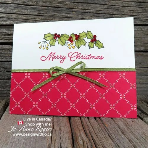 Handmade Christmas Cards with Stampin Blends Markers