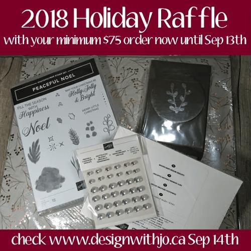 2018 Holiday Catalogue Raffle