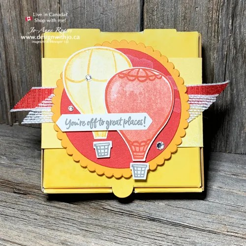 Have YOU Made An Above the Clouds Decorated Pizza Box?