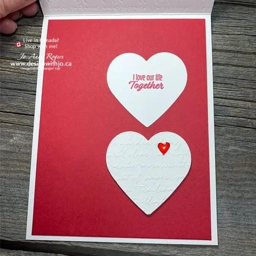Learn to Make a Peek Through Heart Card