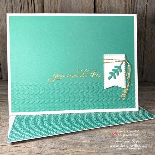 I Love Using Heat Embossed Rubber Stamped Images in Card Making