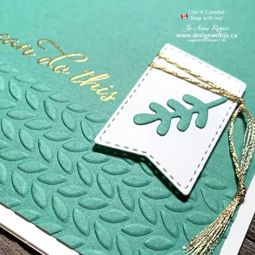 Heat Embossed Rubber Stamped Images in Card Making