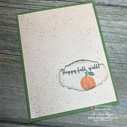 See my VIDEO for How to Make a Handmade Card FAST