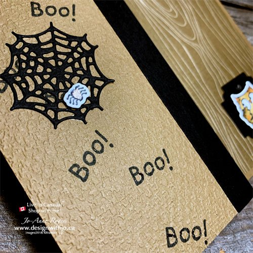 Who Wouldn't Want a Cute Halloween Card Idea to Mkae with the Have a Hoot stamps and Dies?