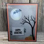 Make a Spooky Tree for a Handmade Halloween Card