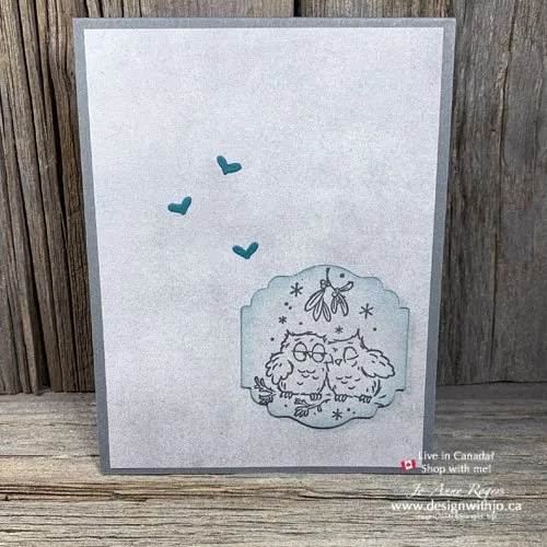 Quick and Easy Cards for Christmas with Have a Hoot Stamps