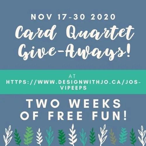 Card Quartet GiveAways