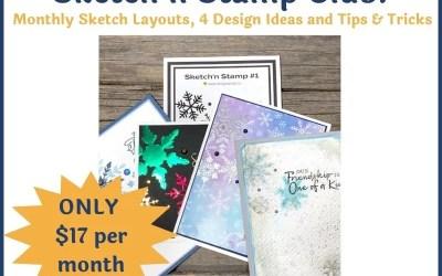 ANNOUNCING! Black Friday Deal! Sketch'n Stamp Club!