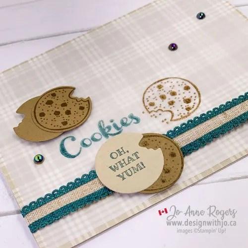 Make a Cute Cookie Card for Santa