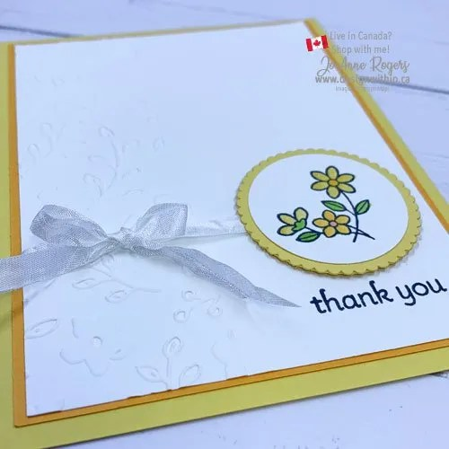 Let's Make a Sweet and Simple Thank You Card