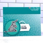 Adorably Cute Handmade Card for a Friend with the Darling Donkeys Stamps from Stampin