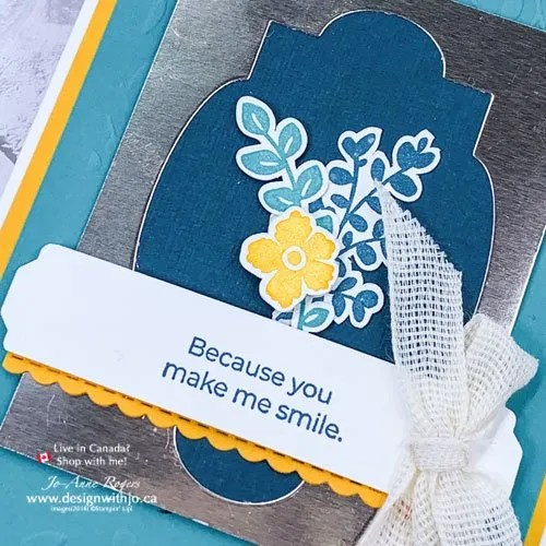 Combine Die Cuts for Layered Handmade Cards