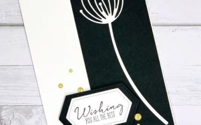 Make a Classy Card with Metal Dies | VIDEO
