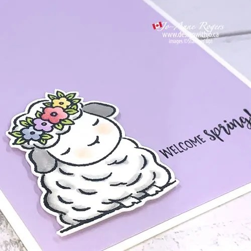 Step by Step Tutorial to Make TheseSimple Rubber Stamped Spring Cards