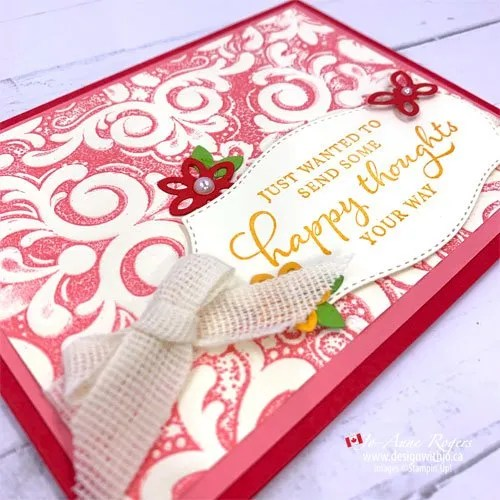 Video to Learn How Easy It Is! How to Add Colour to Embossing Folders
