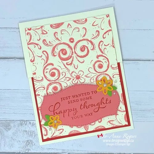 How to Add Colour to Embossing Folders