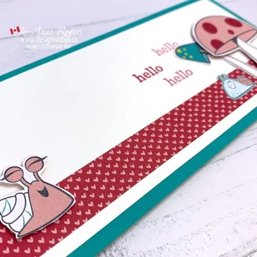 How to Make a Simple Slimline Card That's Fast and Fun!