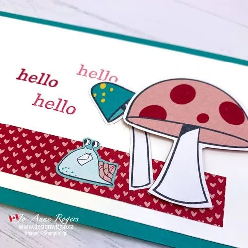 See How to Make a Simple Slimline Card with Designer Series Paper and Your Scissors