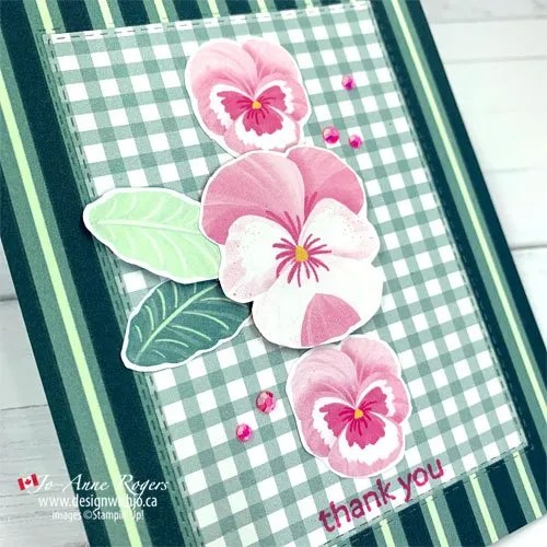 CASE the Cattie VIDEO forAnother Way to Use Patterned Paper in Card Making