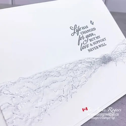 The Quickest Way to Hand Make a Sympathy Card