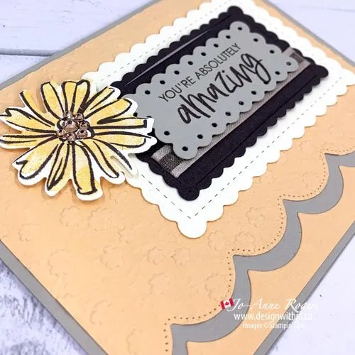 Quick Tip for What to Do If You Used the Wrong Ink Colour on a Stamp Pad