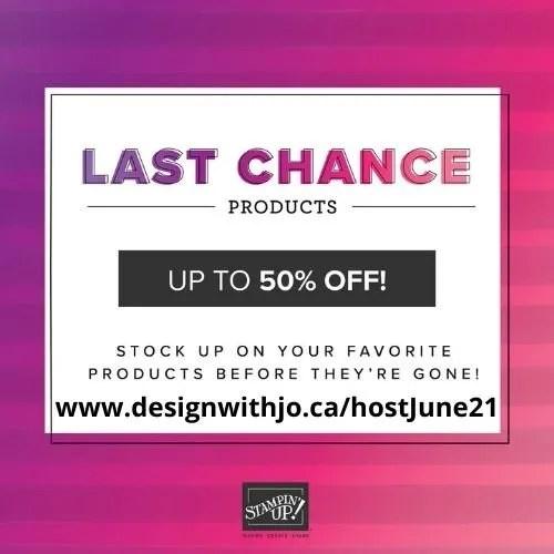 Last Chance Spring 2021 Sale
