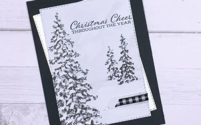 SNEAK Peek Classy Christmas Card Papers