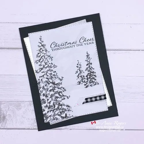 I Love These Classy Christmas Card Papers from Stampin' Up!