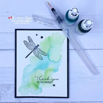 Easy Watercolour Card to Make at Home   Photo Tutorial