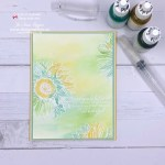 Make a Beautiful Emboss Resist Background with Ink Refills