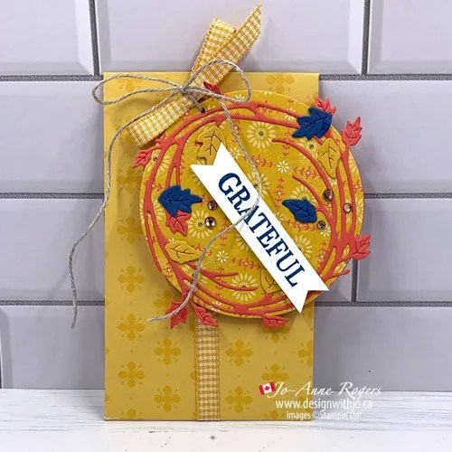 VIDEO How to Make a Gift Tag with the Seasonal Swirls Dies