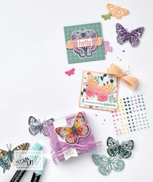 VIDEO How to Copy a Card in a Stampin Up Catalogue