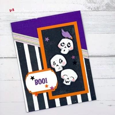 Fun Halloween Boo Card