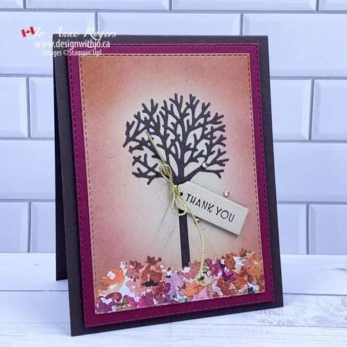 Handmade Card with Metal Dies
