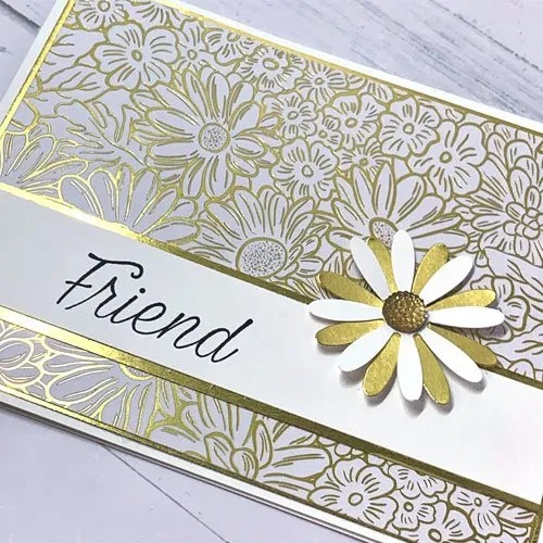 Make Cards with Daisies and the Daisy paper punches from Stampin' Up!
