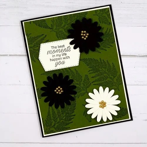 Make Cards with Daisies and the Daisy punches from Stampin' Up!