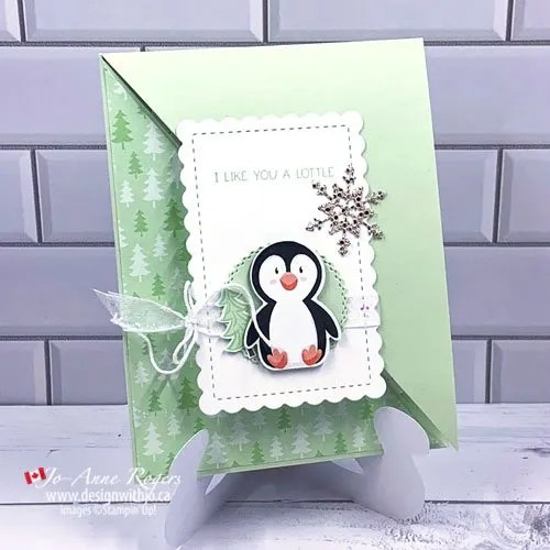 How to Make a Diagonal Fold Gift Card Holder