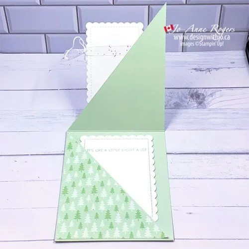 VIDEO for How to Make a Diagonal Fold Gift Card Holder