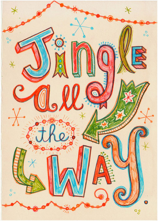 Navidad, Xmas, Luces, Xmas light, Xmas draw, Dibujo navideño