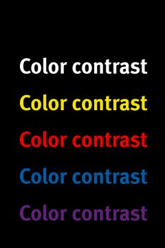 contrast-black
